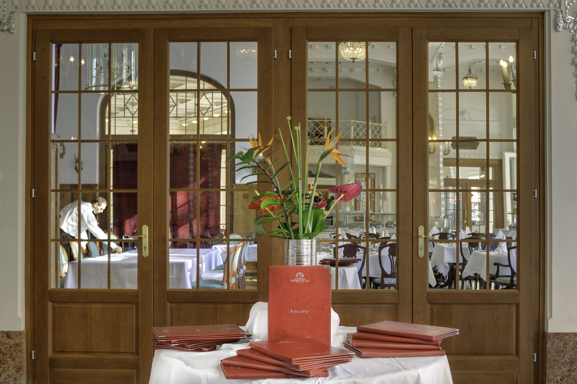 Restaurant at Hotel Thermia Palace Spa Piestany