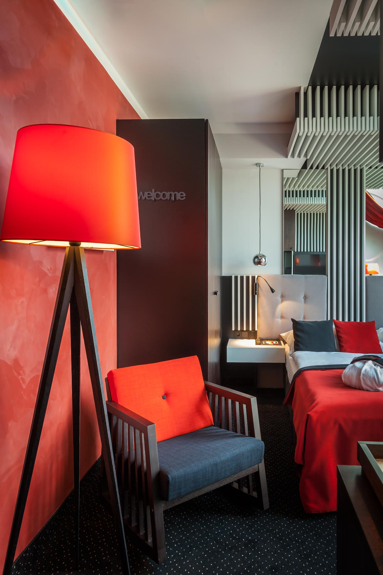 View on the deluxe room of Hotel Clement Prague