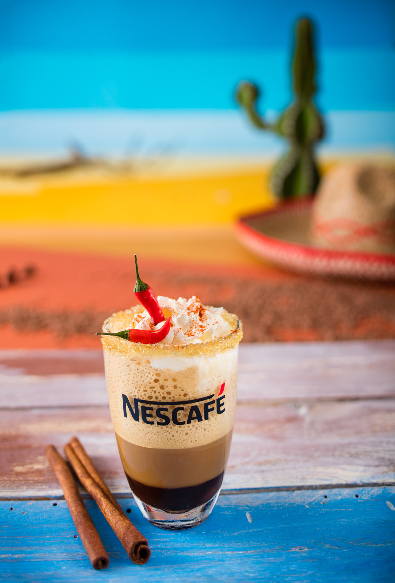 Nescafe Frappe Mexico Recipe