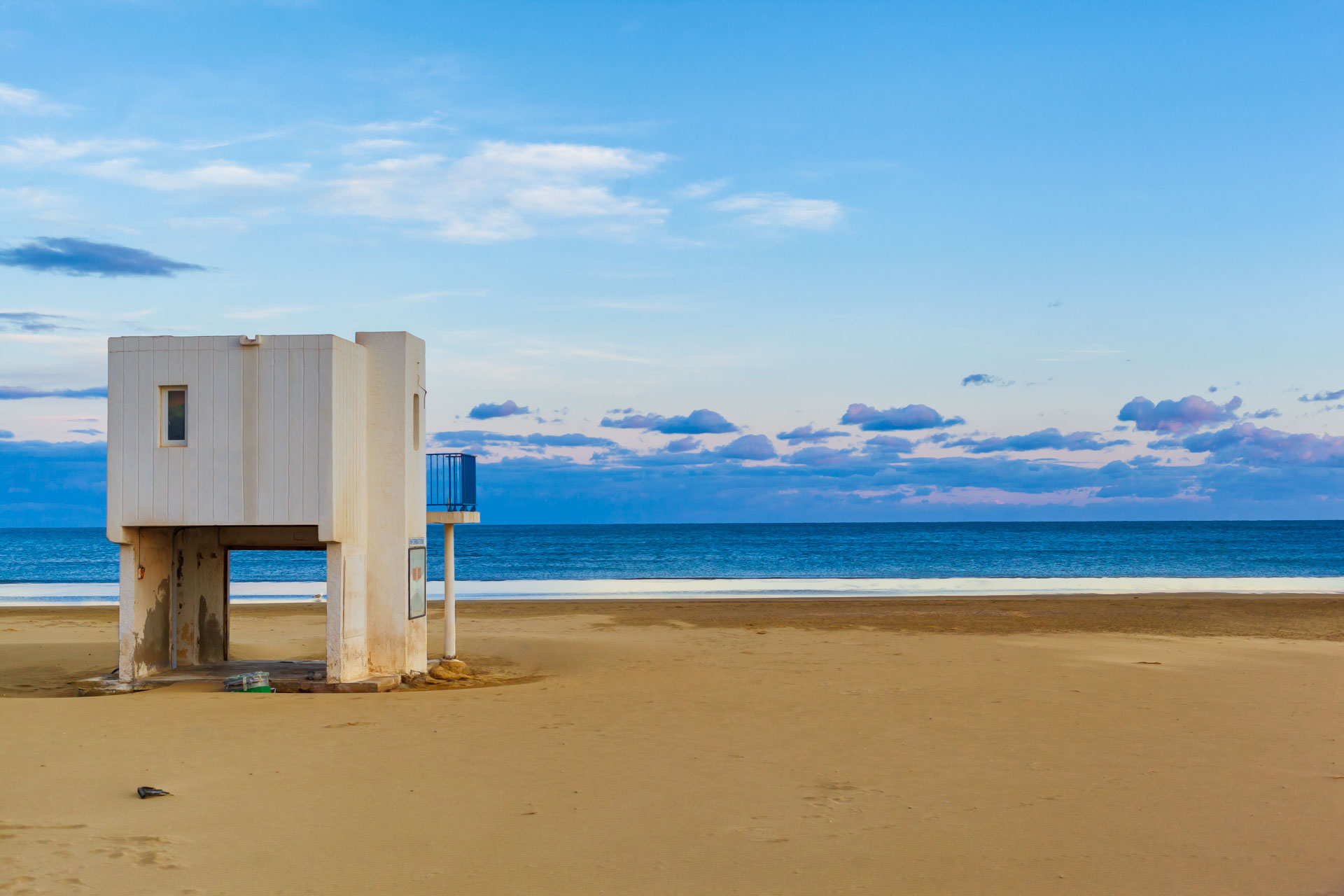 View on the Beach at Southern France