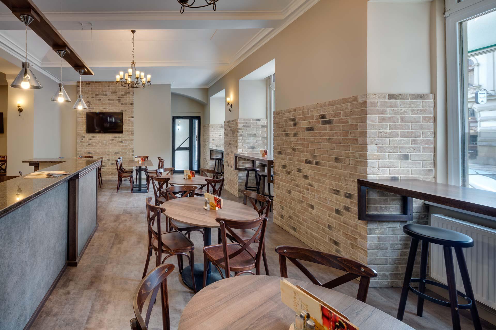 Restaurant at Hotel Florenc