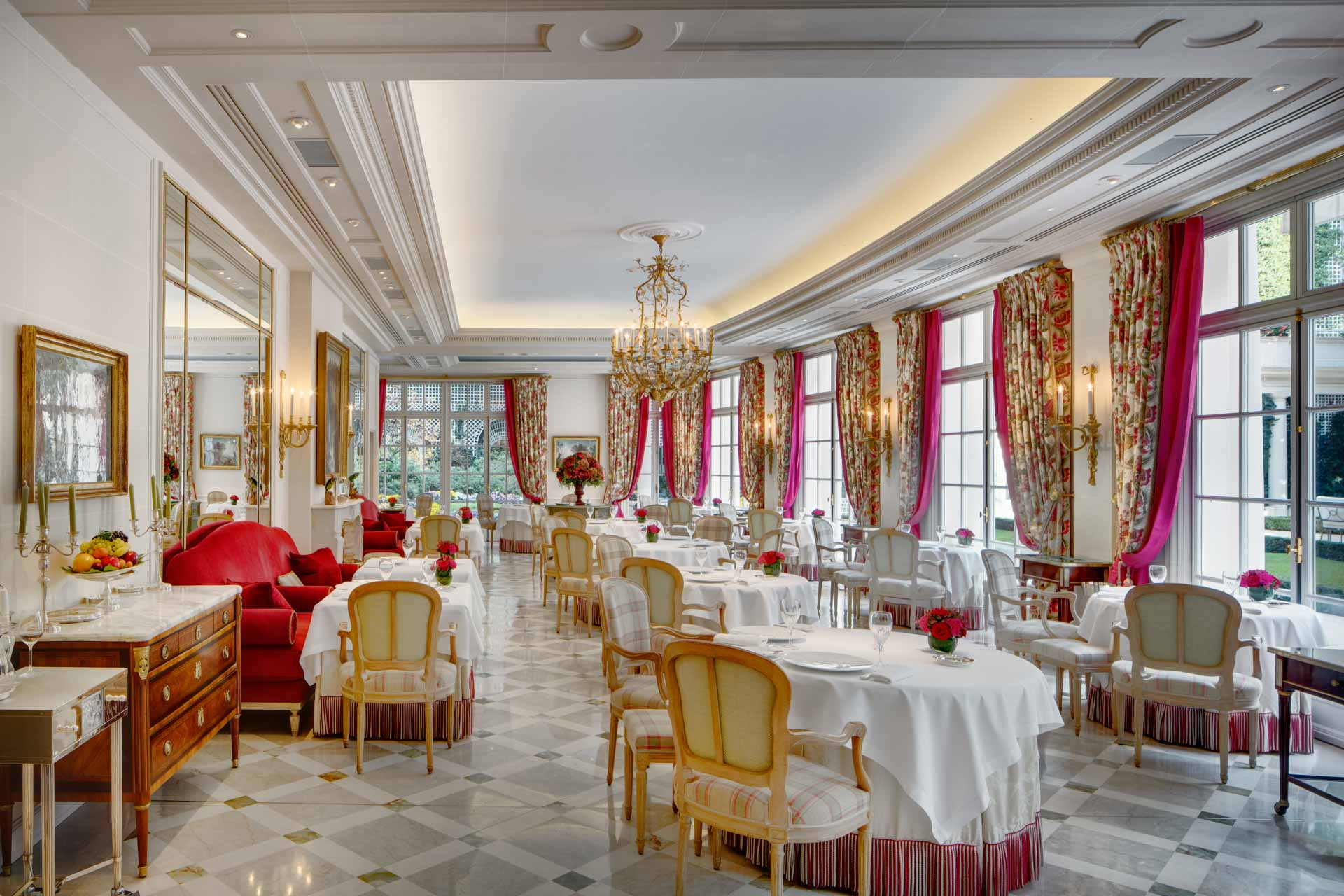 Restaurant at Hotel Le Bristol Paris