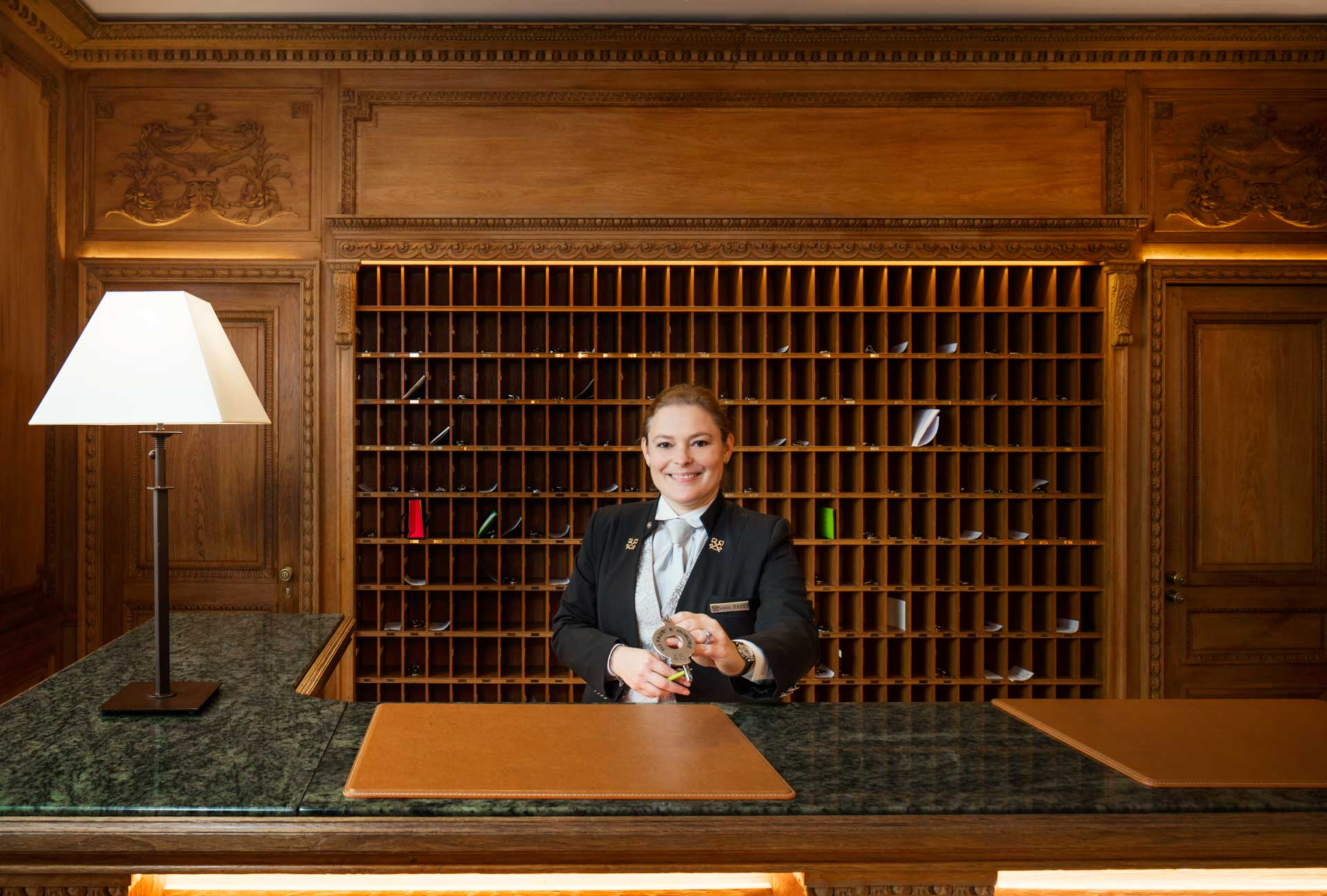Head Concierge at Hotel Le Bristol Paris