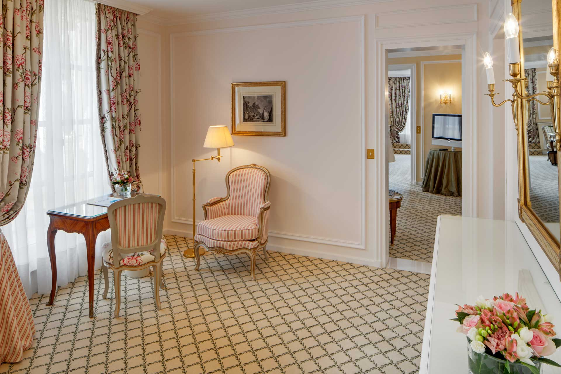 Suite at Hotel Le Bristol Paris