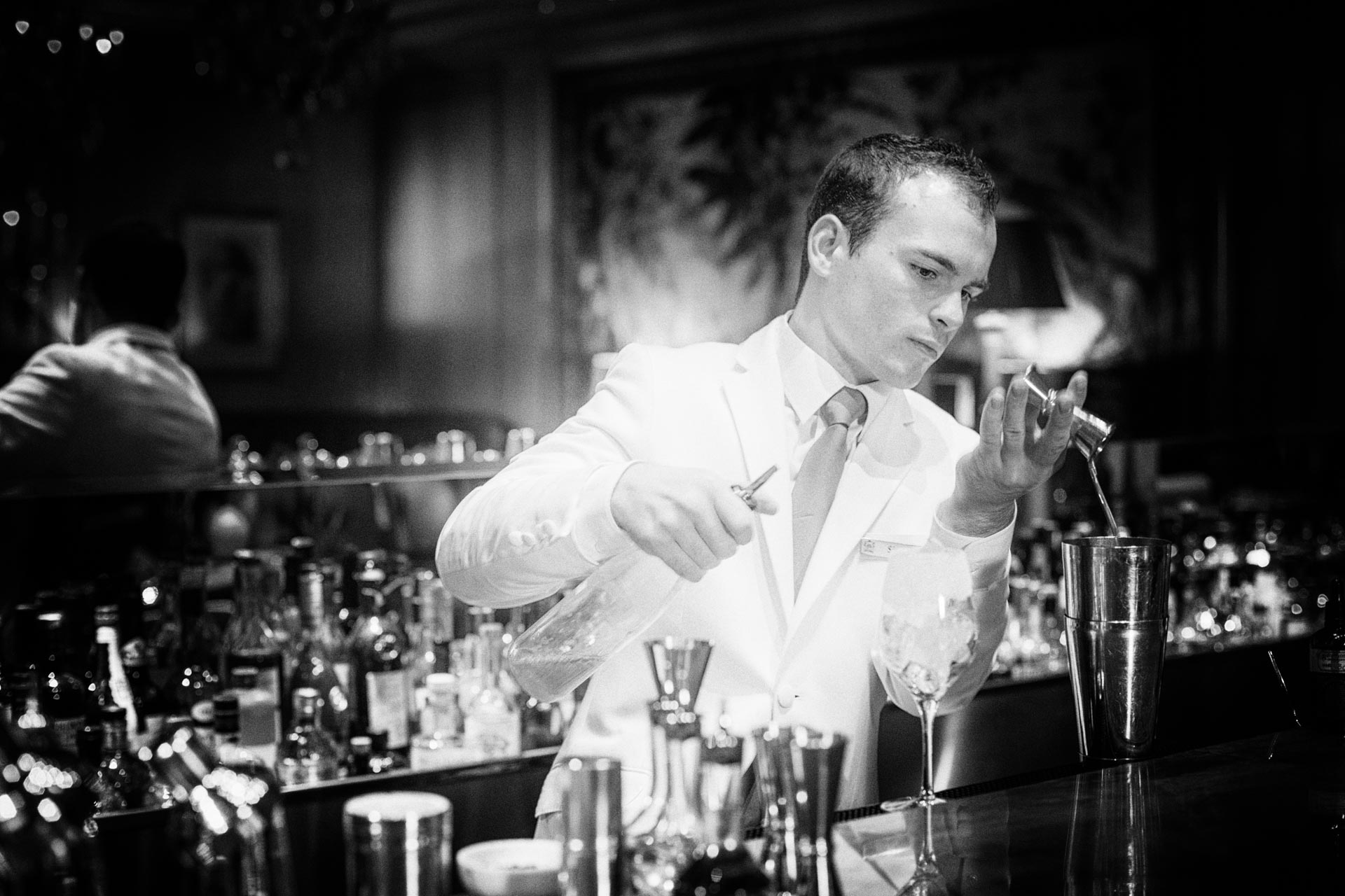Bartender at Hotel Le Bristol Paris