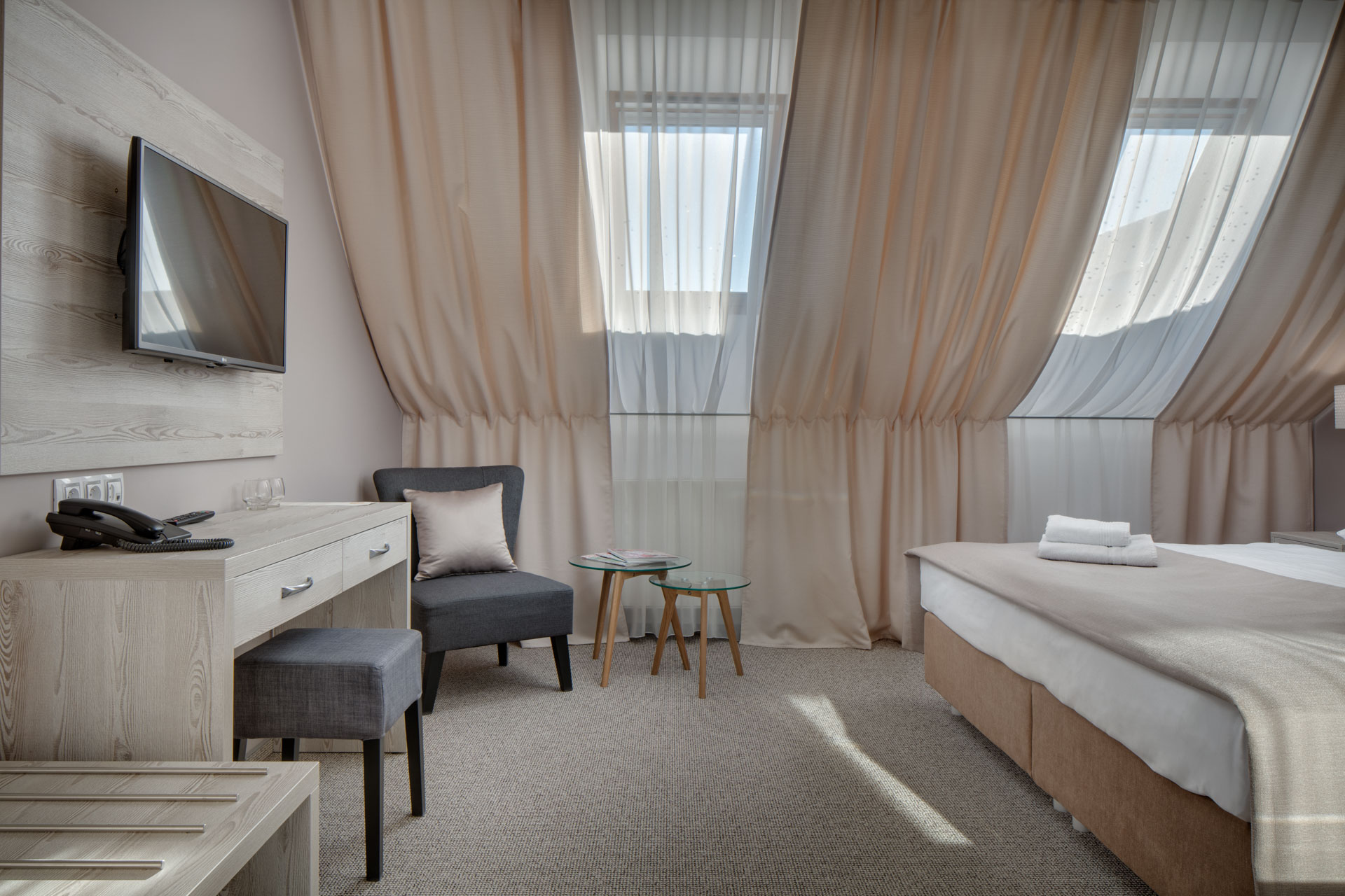 Dubble room at Hotel Florenc