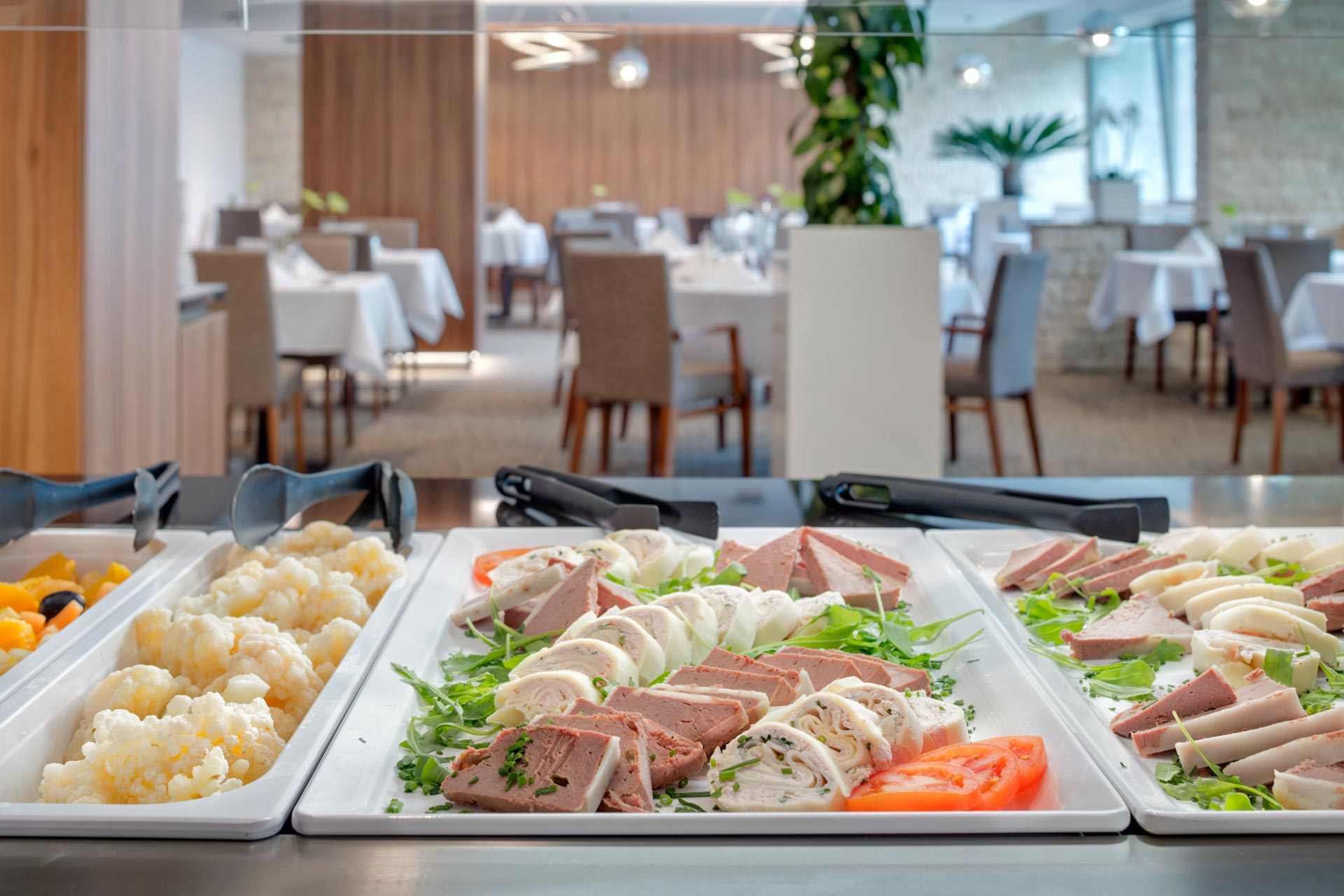 Restaurant buffet at Hotel Esplanade Spa Piestany