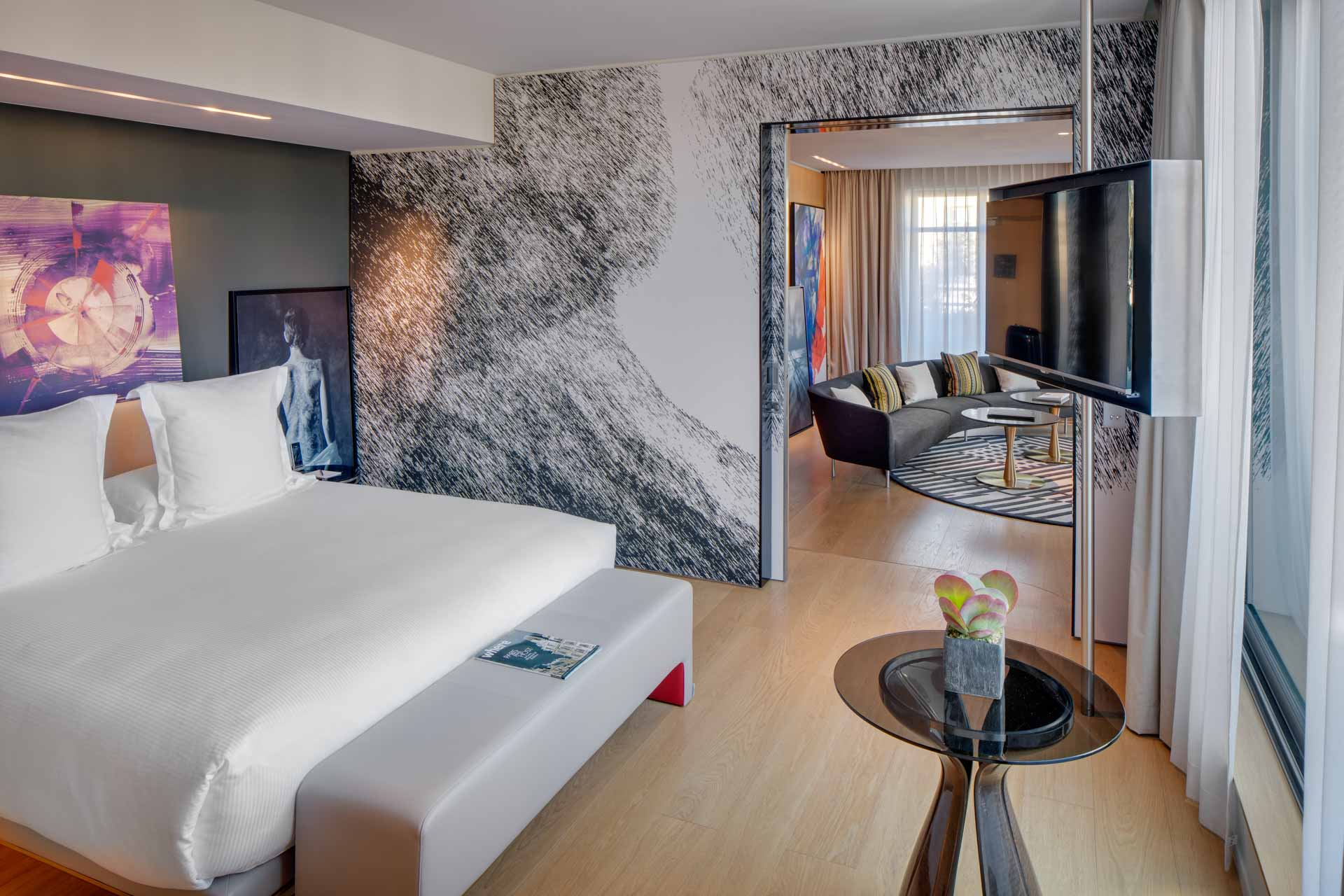 Suite at the Hotel Le Cinque Codet Paris
