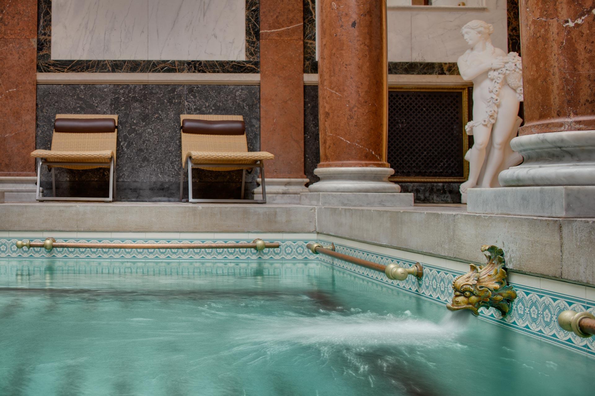Roman Spa at Hotel Novy Lazne Marianske Lazne