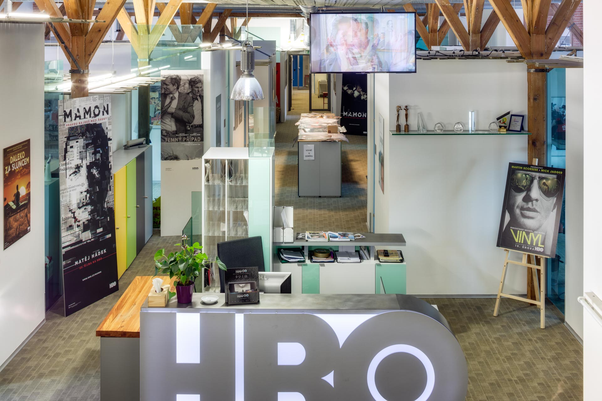 A view on the HBO office