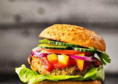 Vegan Burger step by step recipe