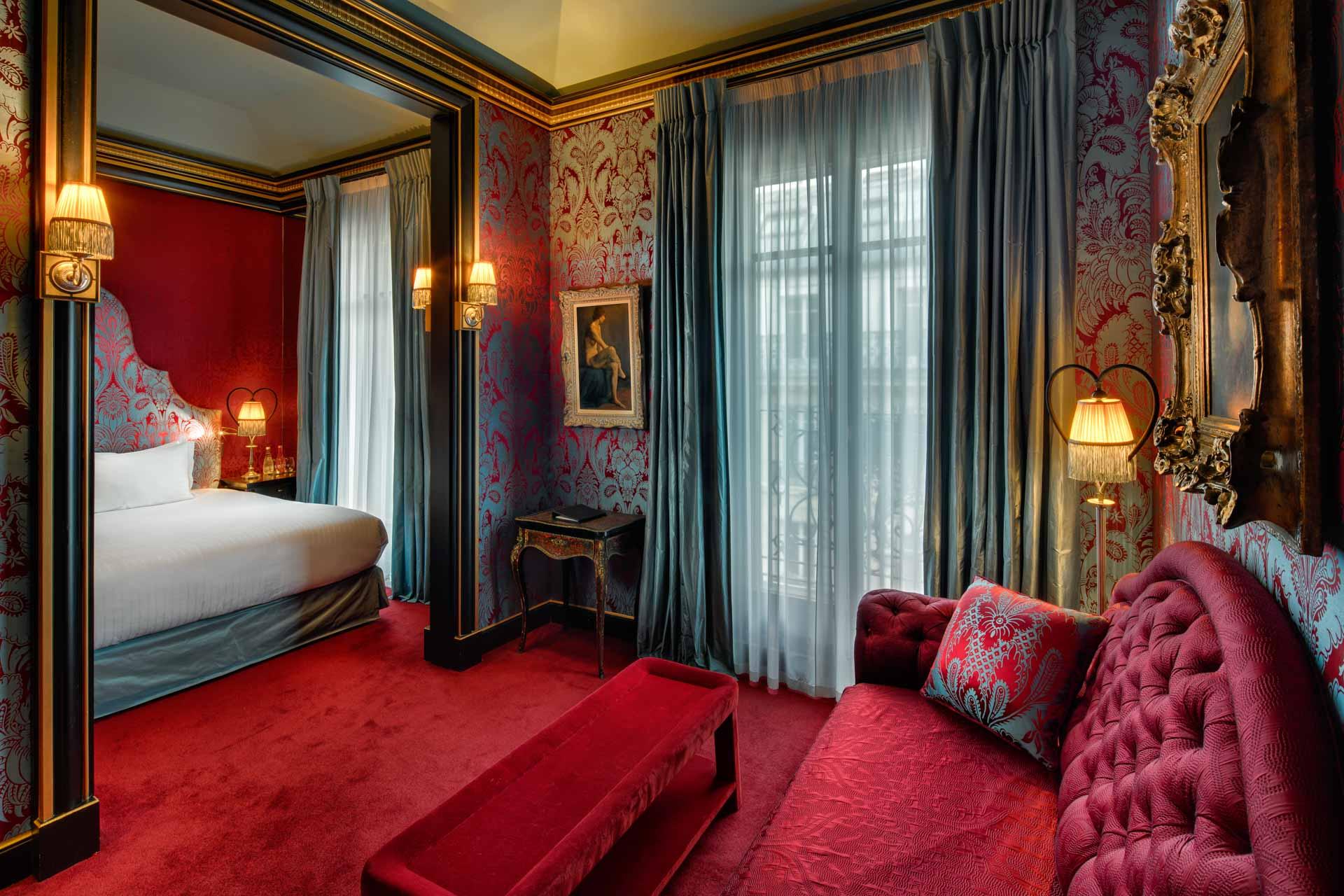 Luxury Boutique Hotel Maison Souquet Paris - Jan Prerovsky ...