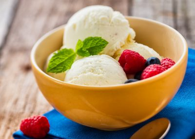 Vanilla Ice recipe step by step for Tatra Mleko