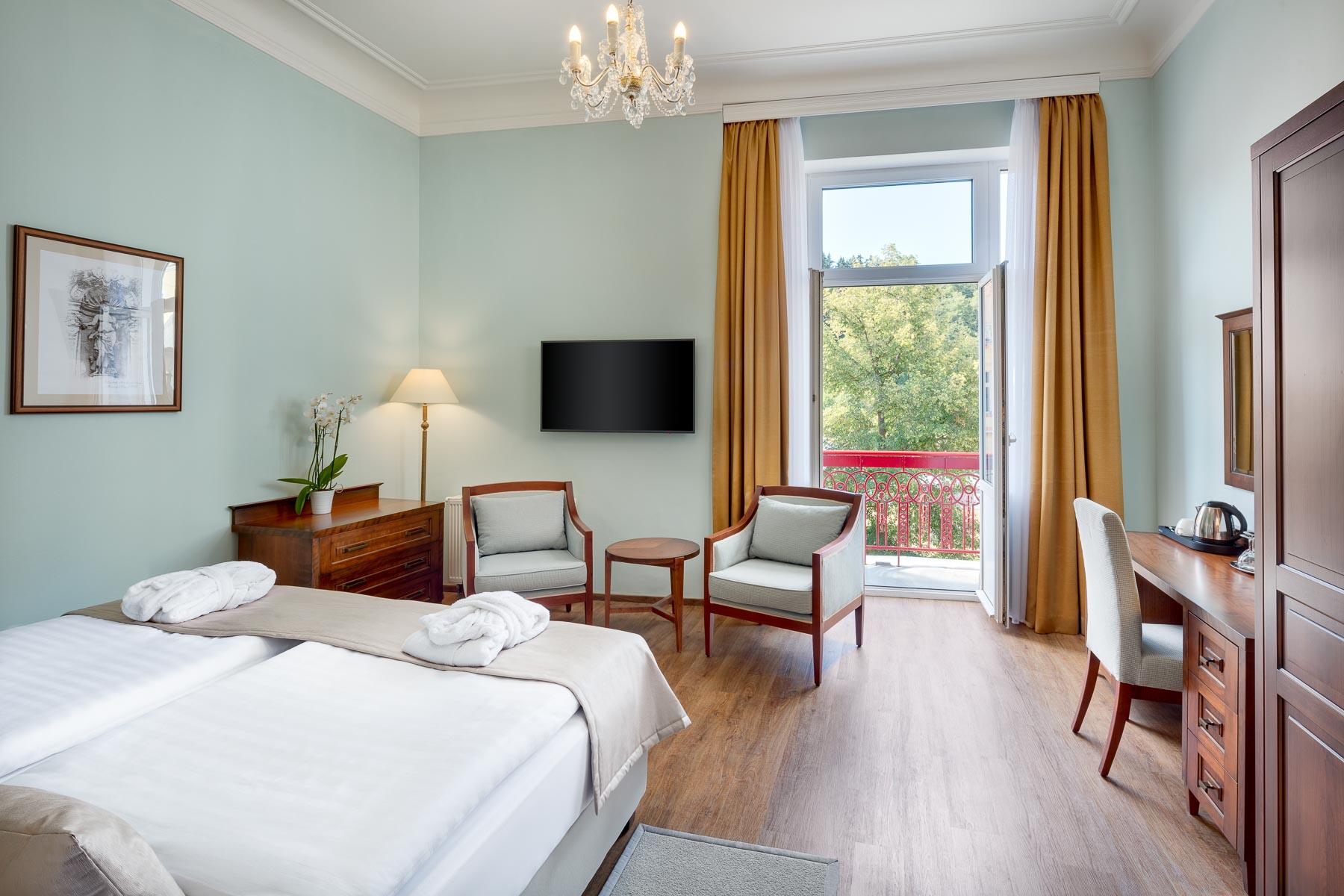 Hotel Maria Spa, Marienbad, Marianske lazne, spa