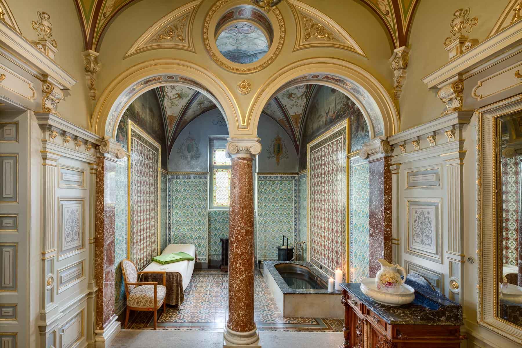 Hotel Nove Lazne, Marienbad, Marianske lazne, Kings cabin, spa