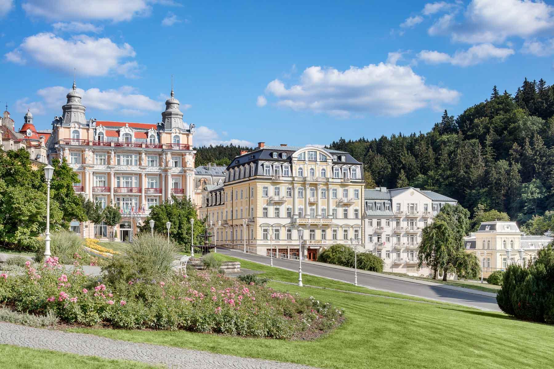 Hotel Hvezda, Imperial and Maria Spa, exterier, Marienbad, Marianske lazne, spa