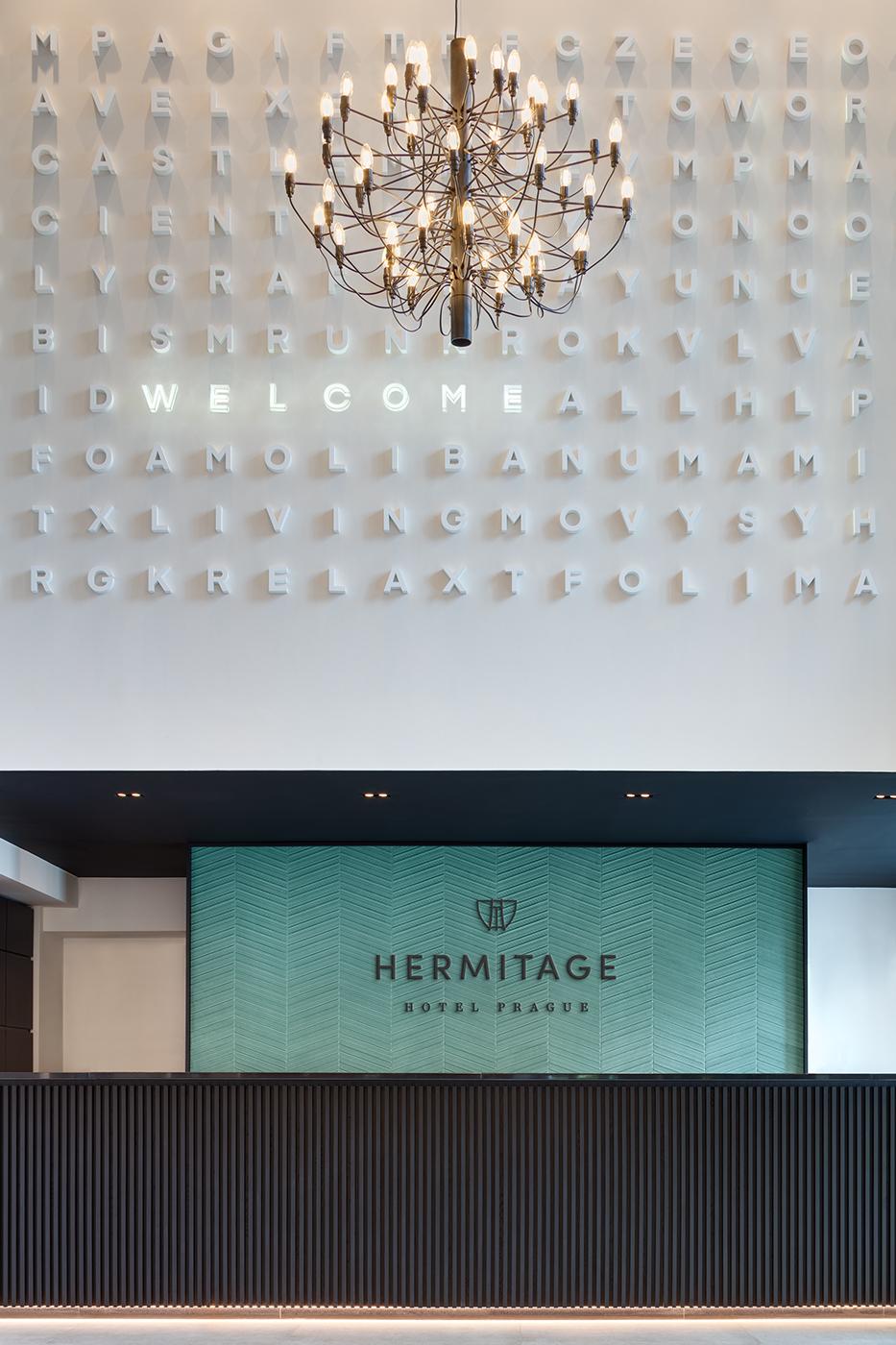 Hotel Hermitage Hotel Prague, Reception